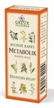 Metabolik bylinné kapky - Devatero bylin 50 ml GREŠÍK