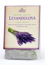 Levandulová -  bylinná koupel 20 g GREŠÍK