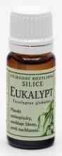 Eukalypt přírodní - Rostlinné silice 10ml GREŠÍK