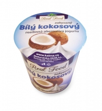 Bílý kokosový zakyssný jogurt 125g bez laktozy a lepku