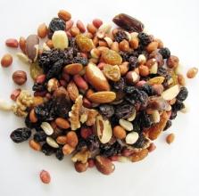 Ořechová směs s rozinkami - natural 50g bez obalu
