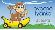 Ovocná tyčinka - banánová dětská 30g JOSEF'S