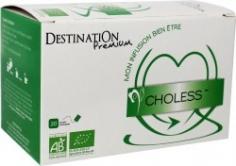 BIO bylinná smis Choless sáekovaná Destination 20 x 1,5 g