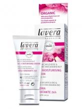 lavera 24h hydratační krém Bio Divoká růže 30ml