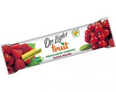 Ovocné tyčinky DR. LIGHT FRUIT KLIKVA-MALINA 30g sleva z 29,-
