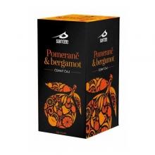 Pomeranč a bergamot - černý čaj 35g SANTÉÉE