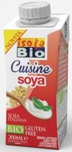 Sojový krém na vaření a pečení ISOLA BIO 200ml