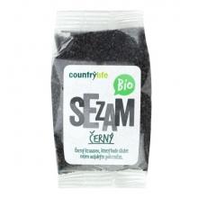 Sezam černý neloupaný 100 gBIO