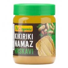 Krém arašídový s kousky 340 g BIO BIORGANIC