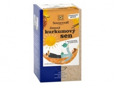 Čaj Jemný kurkumový sen 27g BIO SONENTOR