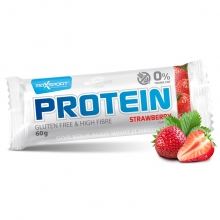 Tyčinka Protein jahoda 60g MAXSPORT