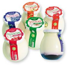 Hanáček Jogurt bílý 195g