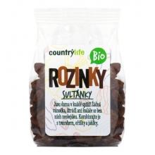 Rozinky sultánky Bio 100g COUNTRY LIFE