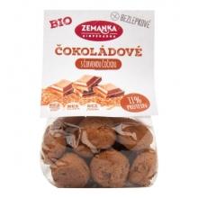 Sušenky - Hrudky čočkové,čokoláda,kokos bezlep, Bio 100g ZEMANKA