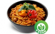 Rýže s mexickým chilli a fazolemi  250g JEZ HNED