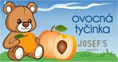 Ovocná tyčinka - meruňka dětská 30g JOSEF'S