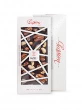 Čokoláda Passion 72% s jasmín, káva, kakaové boby tmavá 120g