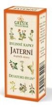 Jaterní bylinné kapky - Devatero bylin 50ml GREŠÍK