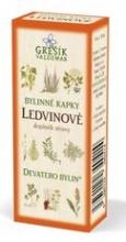 Ledvinové bylinné kapky - Devatero bylin 50 ml GREŠÍK