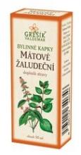 Mátové žaludeční bylinné kapky 50 ml GREŠÍK