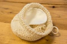 Kosmetický tampon pratelný z bambusu a biobavlny 10 ks
