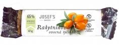 Ovocná tyčinka - rakytníková,bez cukru 45g JOSEF'S