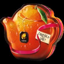 Orange & Chocolate Teapot 55g  ČERNÝ ČAJ s příchutí