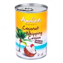 Krém - Kokosový na šlehání Bio 400ml AMAIZIN