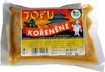 Tofu jemně kořeněné váha SUNFOOD