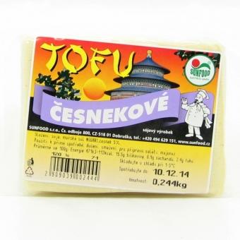 Tofu česnekové váha SUNFOOD