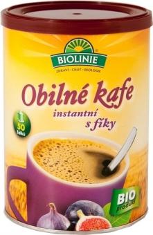Instantní obilné kafe s fíky BIOLINIE 100g