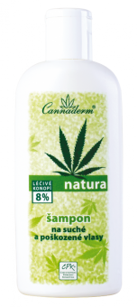 Natura šampon pro suché a poškozené vlasy 200ml