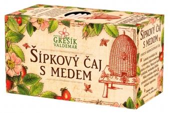 Šípkový čaj s medem 20 n. s. GREŠÍK