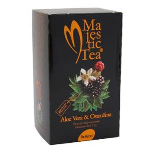 Aloe vera & ostružina 50g Biogenna Majestic tea