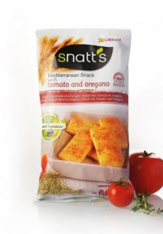Snatt´s chlebíčky s rajčaty a oregánem 120g