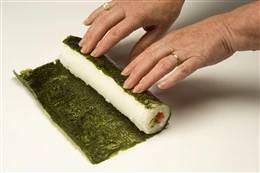 SUSCHI NORI CHEFS 10 listů 35g Sunfood
