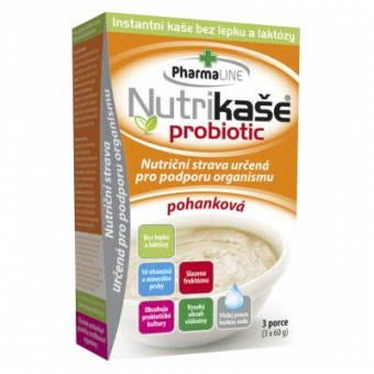 Nutrikaše probiotik POHANKA 3x60g MOGADOR