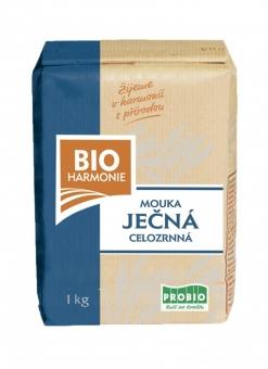 Celozrnná mouka ječná (jemně mletá) BIOHARMONIE 1kg