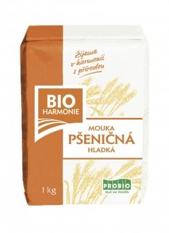 Mouka pšeničná hladká bílá 1kg BIO BIOHARMONIE
