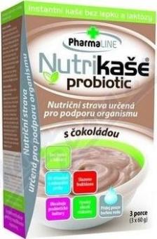 Nutrikaše probiotik čoko 3x60g MOGADOR