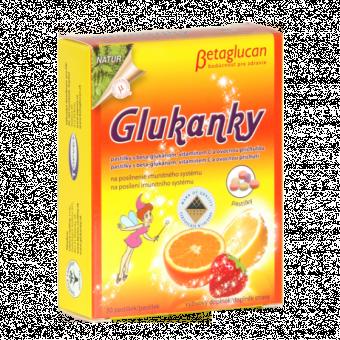 Glukanky - dětské pastilky s ovocnou příchutí