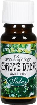 Cedrové dřevo esenciální olej 100% Saloos 10ml