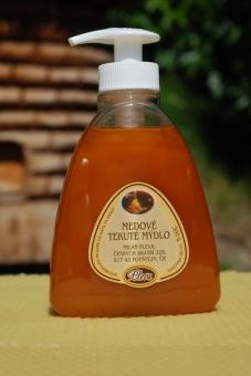 Medové tekuté mýdlo s pumpičkou