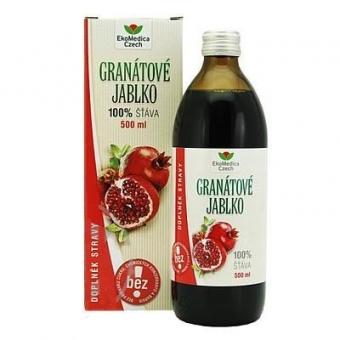 EkoMedica Granátové jablko 100% šťáva 500 ml
