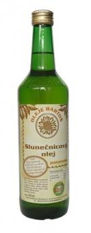 Slunečnicový olej panenský  500ml