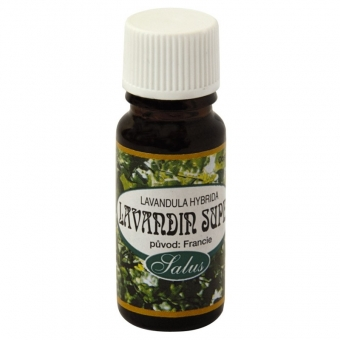 Lavandin Super esenciální olej 10ml Saloos