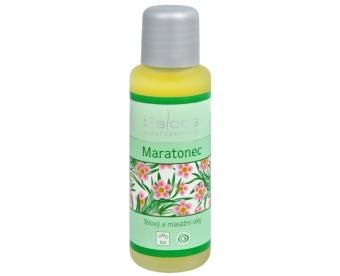 Maratonec tělový a masážní olej Saloos 50ml