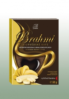 BRAHMI BANÁNOVÉ ajurvédské kafe 50 g - DNM