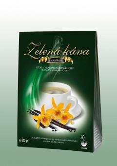 Zelená káva - vanilka 50g DNM