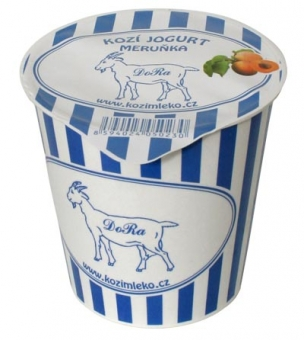 Kozí jogurt meruňka DORA 150g BIO
